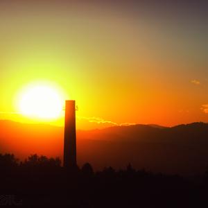 Západ slnka IV