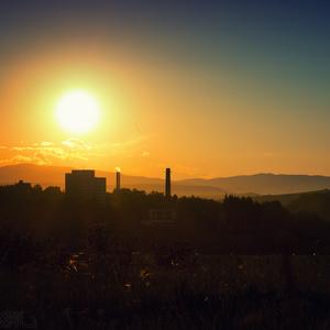 Západ slnka III