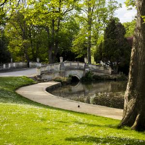 Pittville park.Cheltenham