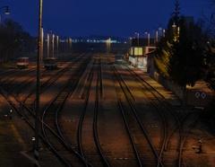 svetlo na stanici