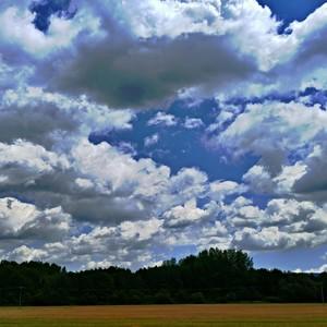 Oblaky z neba