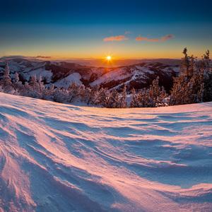 Lajštroch a východ slnka