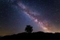 Mliečna dráha nad Breznom
