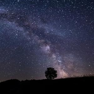 Mliečna dráha - panoráma