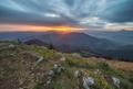 Východ slnka na Osnici