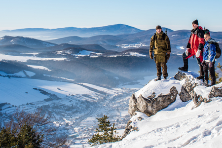 Výstup na Omšenskú Babu 669m.n.m a Slopský Vrch 789m.n.m