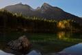 ranne svetlo na jazere