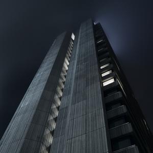 noc, hmla a beton