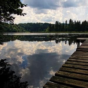 Ticho na jazere
