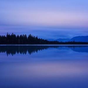 vecerna pri jazere