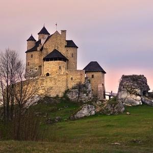 Podvečer u hradu
