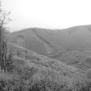 počas cesty na vrch Čergova