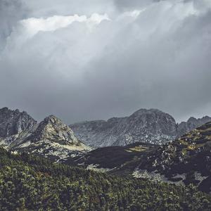 Vysoké Tatry - trasa na Kriváň