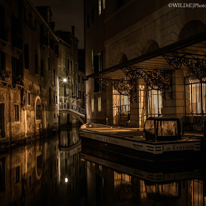 Magic Time In Evening Venice