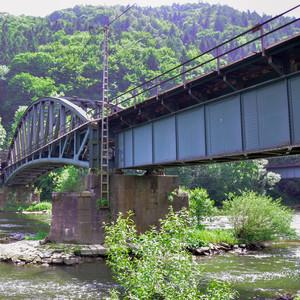 železničný most Varín/Nezbudská
