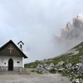 Kaplička pod Tre Cime di Lavaredo