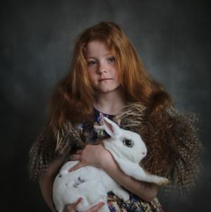 Dievca a zajac