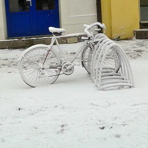 Prvý sneh v Košiciach