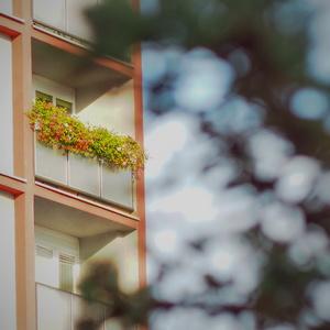 letný balkón