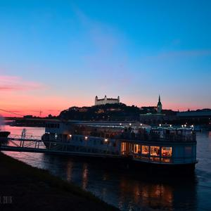Podvečer na Dunaji