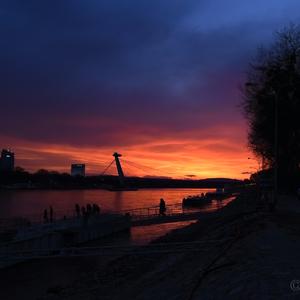 Súmrak nad Dunajom