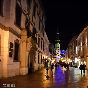 Michalská brána a ulica