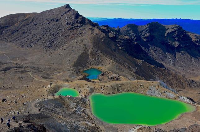Zelená - modrá ...