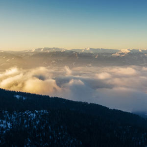 Ráno v Horách