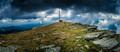 Panorama na Kráľovej Holi