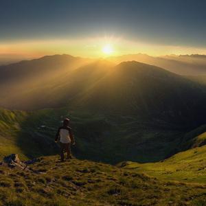 Ráno v Západných Tatrách