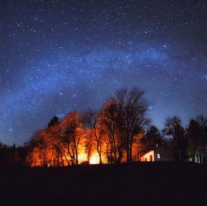 Milky way nad Vatrou