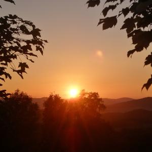 západ slunce září 2014