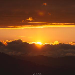 Zapad slnka na Suľove