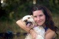 Radost psíka z človekom
