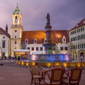 Evening on Main Square