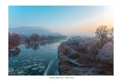 Rieka Morava - zima 2017