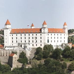 Panoráma Bratislavského hradu