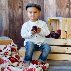 Chlapec v čapici