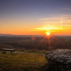 Západ slnka na Sandbergu