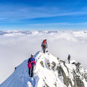Hrebeň na Malý Ľadový štít