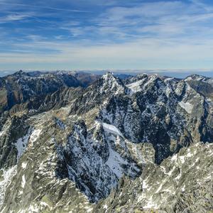 Cestou na Gerlach po hrebeni