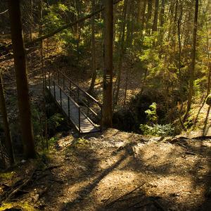 Biely potok - mostík