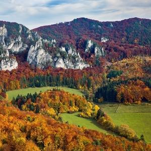 Súľovské skaly a jeseň