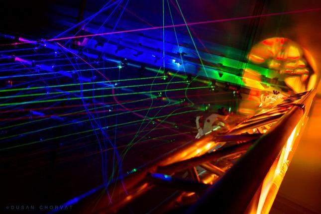 Laserová harfa