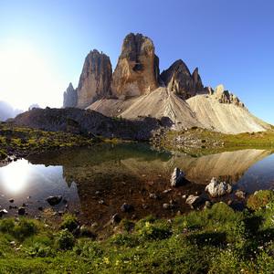 Alpská panoráma