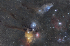 Rho Ophiuchi cloud complex
