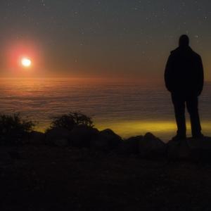 Vychod Mesiaca z inej planety...