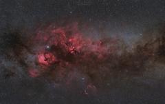 Cygnus HaRGB
