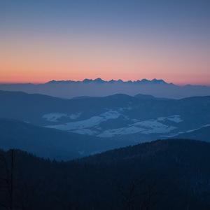 VT po západe slnka