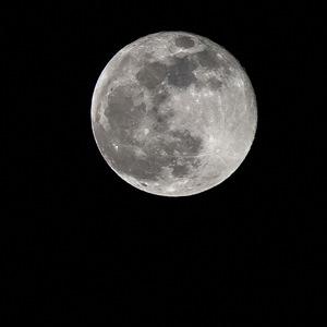 Deň po zatmení mesiaca - spln